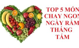 Top 5 món chay ngon ngày rằm đơn giản và ngon miệng