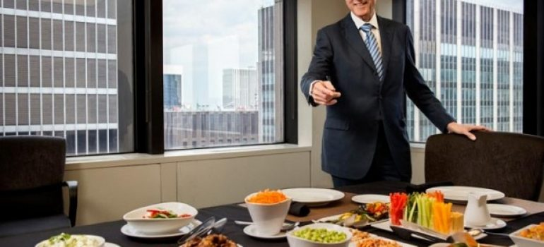 Bill Clinton nói về ăn chay