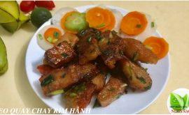 Thịt Heo Quay Chay
